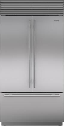 Sub-Zero Classic BI42UFDSTH French Door Refrigerator Stainless Steel, Main Image