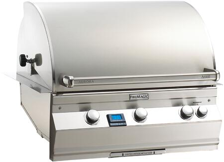 Fire Magic Aurora A660I6L1N Natural Gas Grill Stainless Steel, Main Image Rotisserie Model