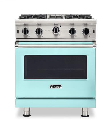 Viking 5 Series VGIC53024BBWLP Freestanding Gas Range Blue, VGIC53024BBWLP Gas Range