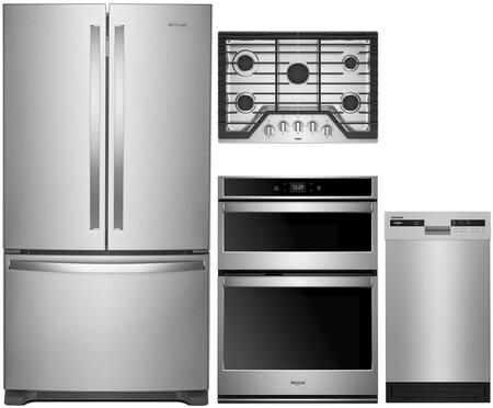 Whirlpool 1054237 Kitchen Appliance Package & Bundle Stainless Steel, main image