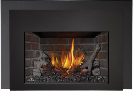 Napoleon Infrared Logs, Newport Brick Panels, Black Front, One Piece 6 in. Surround