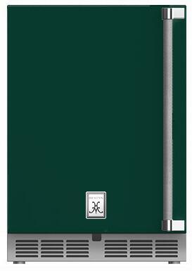 Hestan  GRWSL24GR Compact Refrigerator Green, Main Image