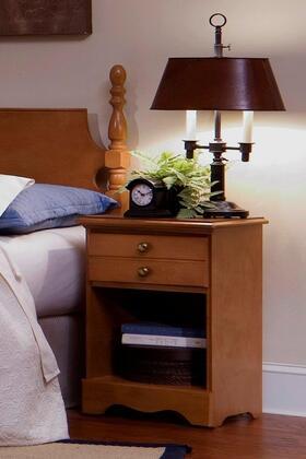 Carolina Furniture Common Sense 182X00 Nightstand Brown, 1