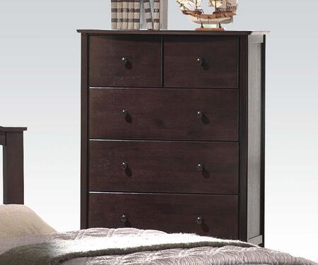 Acme Furniture San Marino 04996 Chest of Drawer Brown, 1