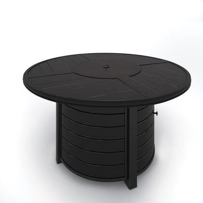 Signature Design by Ashley Castle Island P414776 Outdoor Patio Table Brown, Main Image