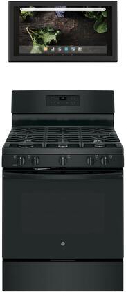 GE 1077281 Kitchen Appliance Package & Bundle Black, main image