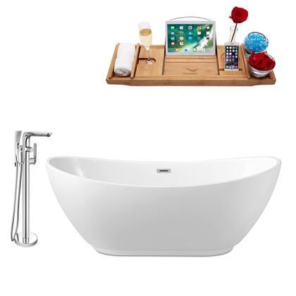 Streamline NH580120 Bath Tub, NH580 120 1T
