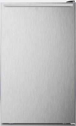 AccuCold CM421BLBI CM421BLXBISSHH Compact Refrigerator Stainless Steel, Door