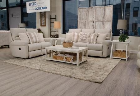 Westport Collection 1212 1605-38/2533-16 61″ Lay Flat Reclining Loveseat in Cement/Linen