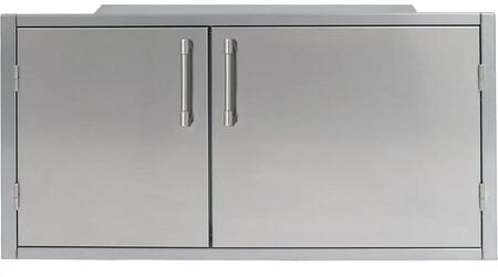 Alfresco AXEDSP42L Storage Drawer Stainless Steel, AXEDSP42L Front View