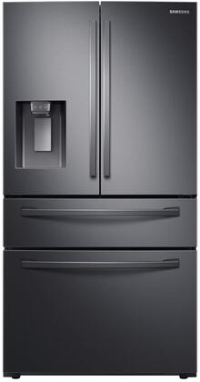 Samsung  RF24R7201SG French Door Refrigerator Black Stainless Steel, Main Image