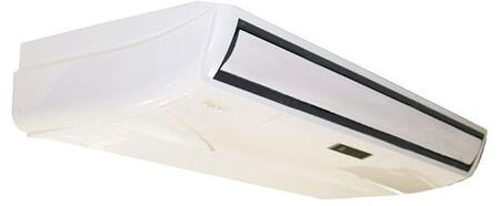 KUIR24-H2 24000 BTU Floor/Ceiling Mount Fan Coil Indoor Unit with Auto Defrosting Auto Restart and Sleep Mode in