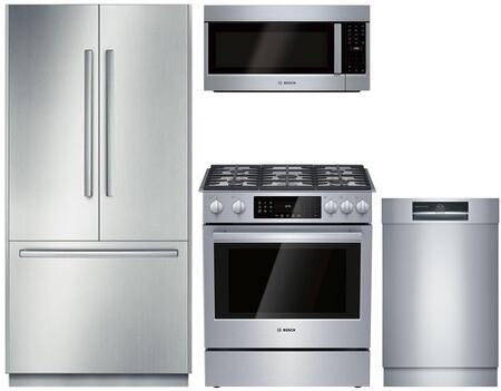 Bosch Benchmark  903280 Kitchen Appliance Package Stainless Steel, 1