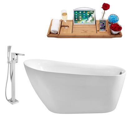Streamline NH280100 Bath Tub, NH280 100 1T