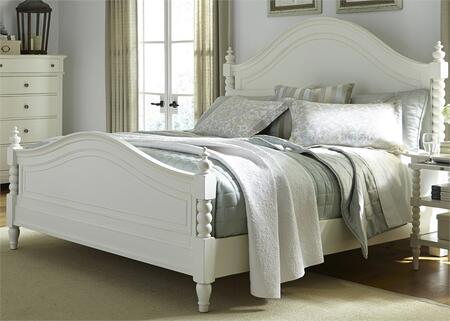 Liberty Furniture Harbor View II 631BRQPS Bed White, Main Image