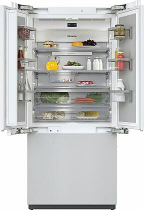 Miele MasterCool KF2982VI French Door Refrigerator Panel Ready, KF2982VI MasterCool French Door Refrigerator
