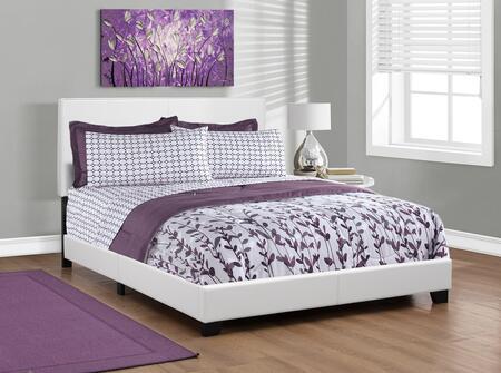 Monarch  I5911Q Bed White, Main Image