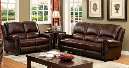 Furniture of America Turton CM6191SL Living Room Set Brown, main image