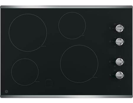 GE  JP3030SJSS Electric Cooktop Stainless Steel, Main View