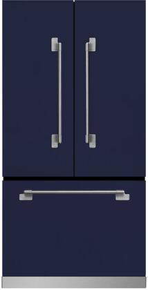 AGA Elise MELFDR23SKY French Door Refrigerator Blue, Main Image