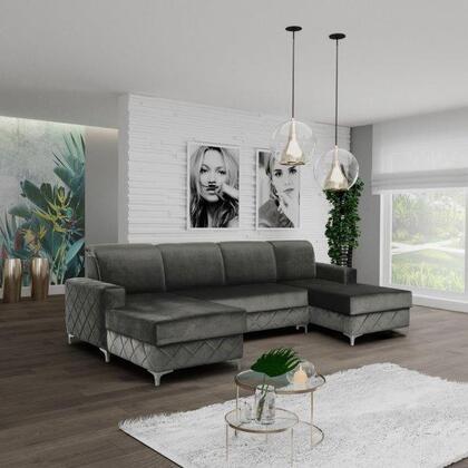 Amaro Collection AMAROGRAY Sofa Bed in Gray