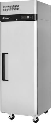M3R24-1-N 29″ M3 Series Solid Door Reach-In Top Mount Refrigerator with 21.98 cu. ft. Capacity  Self-Cleaning Condenser and Hydrocarbon Refrigerants