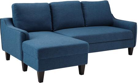 Signature Design by Ashley Jarreau 1150371 Sofa Bed Blue, Main Image