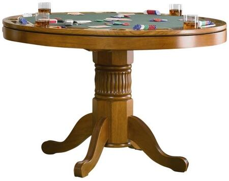 Coaster Mitchell 100951 Combination Game Table Brown, 1