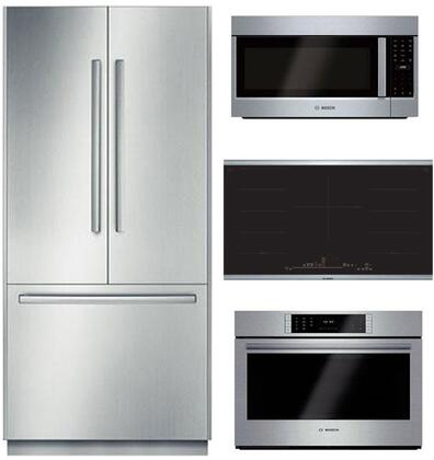 Bosch Benchmark  902737 Kitchen Appliance Package Stainless Steel, main image