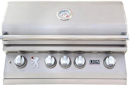 Lion L75000 75625 Liquid Propane Grill Stainless Steel, Main View