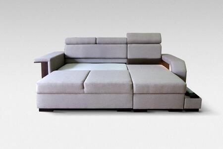Amaro Collection AMAROBEIGE Sofa Bed in Beige
