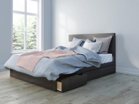 Nexera Multiple Series 402009 Bed Brown, Main Image