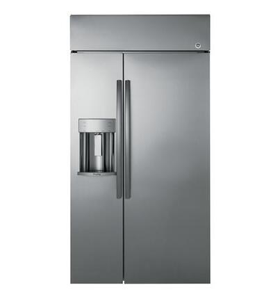 GE Profile PSB48YSKSS Side-By-Side Refrigerator Stainless Steel, Built-in Side by Side Refrigerator