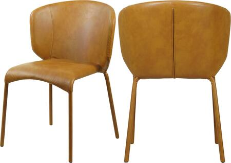 Meridian Drew 703COGNACC Dining Room Chair Brown, Main Image