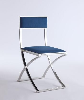 Chintaly Madison MADISONSCBLU Dining Room Chair Blue, Main Image