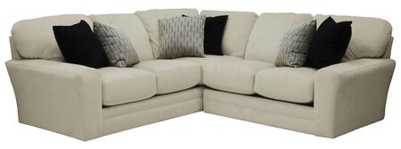 Jackson Furniture Everest 43776242233401268648268008 Sectional Sofa White, Main Image