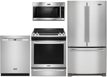 Maytag  1009964 Kitchen Appliance Package Stainless Steel, main image