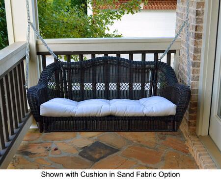 Tortuga Portside PSSWINGDRHALIW Outdoor Patio Swing Brown, PSSWINGDRHALIW Main Image
