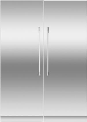 Fisher Paykel  966241 Column Refrigerator & Freezer Set Stainless Steel, Main Image