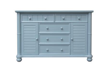 Sunset Trading Cool Breeze CF17300156 Dresser Blue, CF 1730 0156