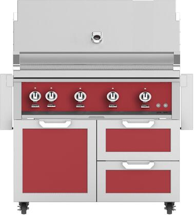Hestan  851846 Liquid Propane Grill Red, Main Image