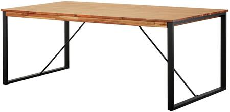 New Pacific Direct 8000054 Zachary Collection 79 Inch Dining Table