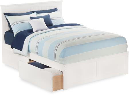 Atlantic Furniture Nantucket AR8252112 Bed White, AR8252112