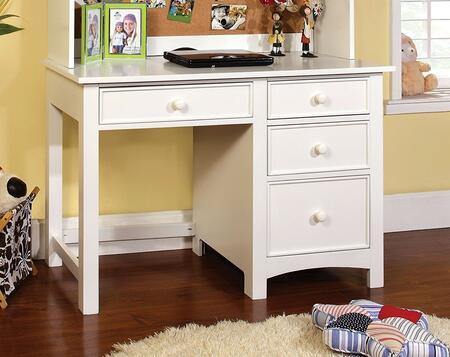 Furniture of America Omnus CM7905WHDK Desk , 1
