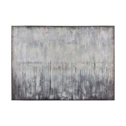 1219-058 Artificial Abstract Wall Decor  In Grey And