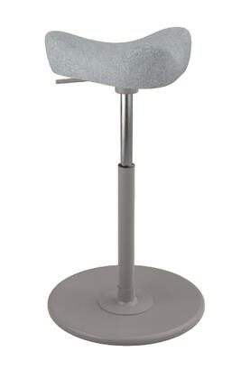 Varier Move Small MOVESMALL2700HALLINGDALE130GRYMEGRY Office Stool, Main Image