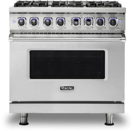 Viking 7 Series VGR73626BSS Freestanding Gas Range Stainless Steel, VGR73626BSS Main Image Front view