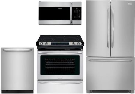 Frigidaire  1133867 Kitchen Appliance Package Stainless Steel, main image