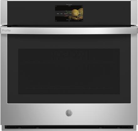 GE Profile PTS9000SNSS Single Wall Oven Stainless Steel, PTS9000SNSS Front View