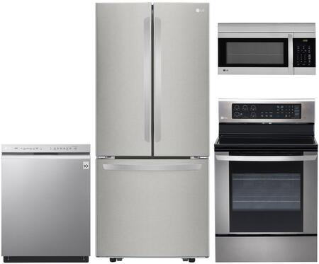 LG 973035 Kitchen Appliance Package & Bundle Stainless Steel, Main image
